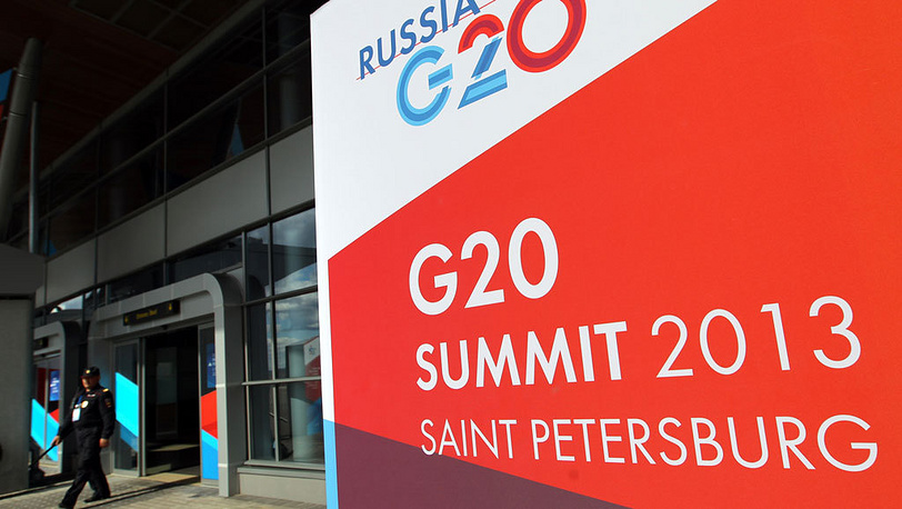 "Подготовка к саммиту ""Большой двадцатки"". Фото EPA/TATYANA ZENKOVICH"