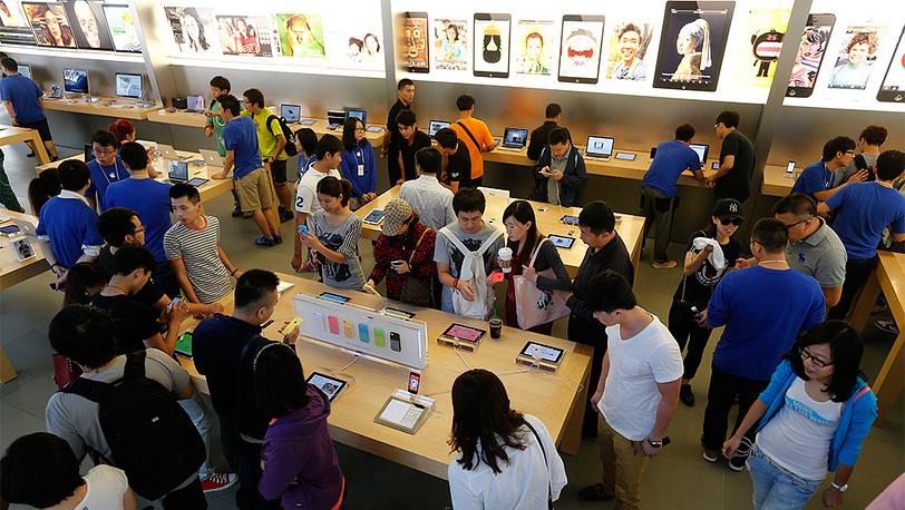 Магазин Apple в Пекине. Фото EPA/ROLEX DELA PENA