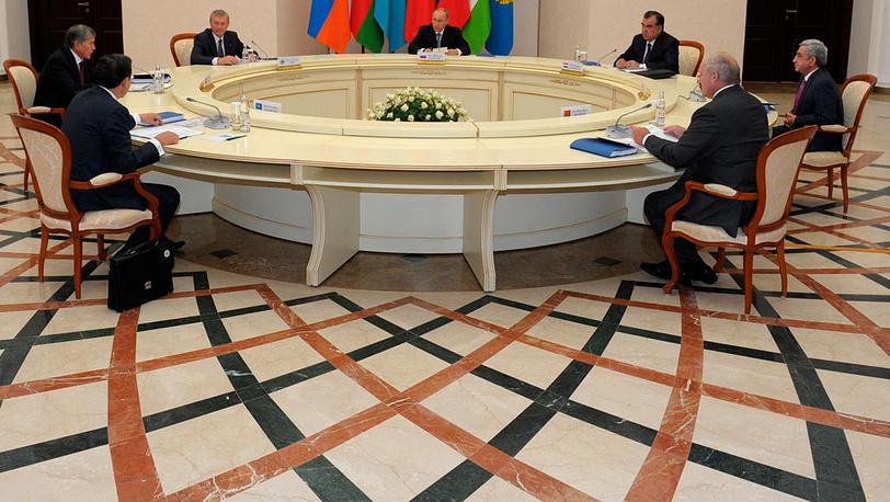 Заседание совета коллективной безопасности ОДКБ. Фото ИТАР-ТАСС/Алексей Дружинин
