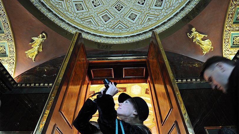 """Агатовые комнаты в музее-заповеднике """"Царское Село"""". Фото ИТАР-ТАСС/ Руслан Шамуков"""