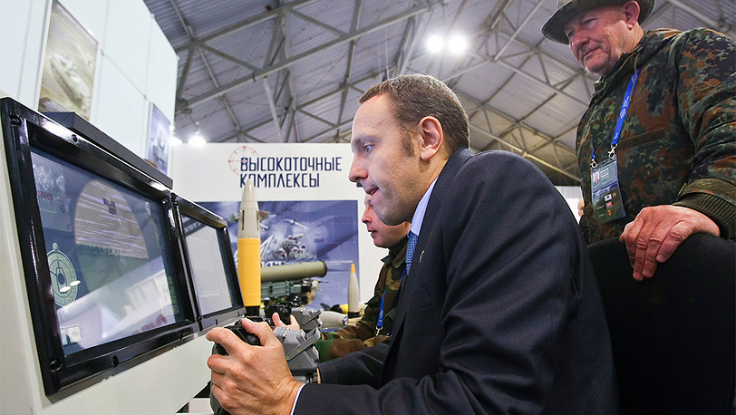 IX Международная выставка вооружения Russia Arms EXPO. Фото ИТАР-ТАСС/ Владимир Смирнов