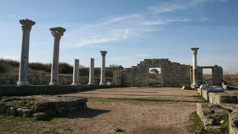 Раннехристианская базилика. Фото ИТАР-ТАСС/ Алексей Павлишак