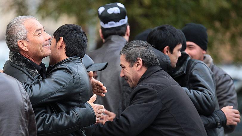 Мусульманский праздник Курбан-байрам в Казани. Фото ИТАР-ТАСС/ Николай Александров