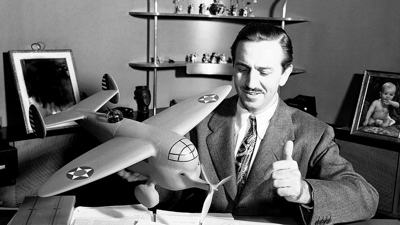 Улот Дисней в своей студии. 1941. Фото АР