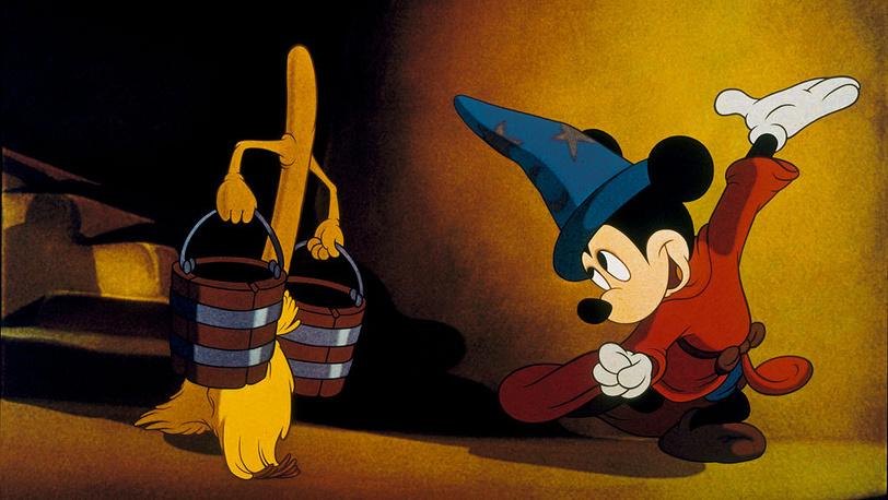 "Кадр из м/ф ""Фантазия"". 1940 год. Пресс-служба Disney"