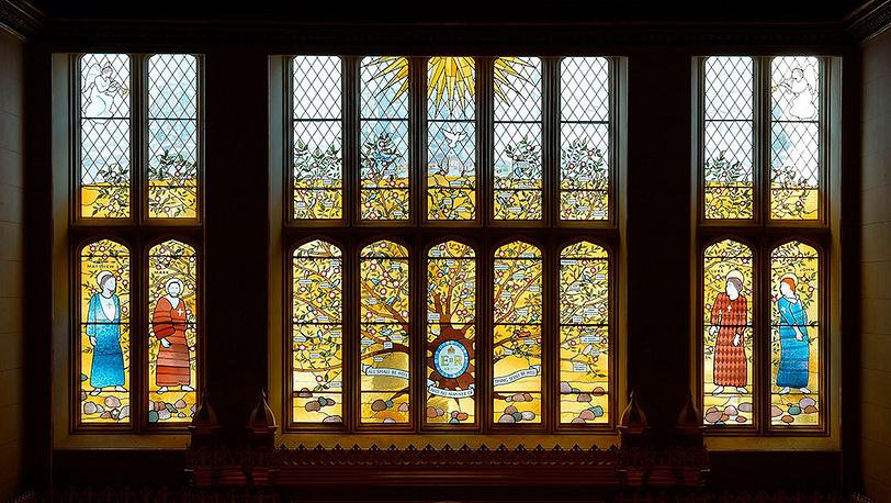 Часовня Сент-Джеймского дворца в Лондоне. Фото AP Photo/John Stillwell, Pool