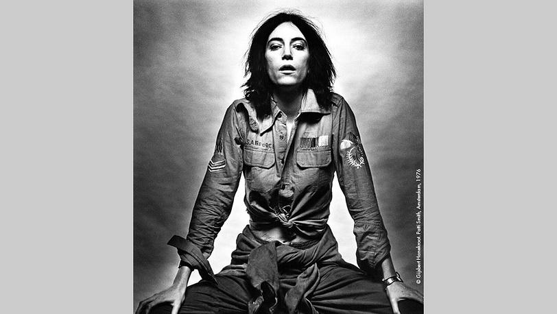 Патти Смит, 1976 г. Фото Гилберт Ханекроот