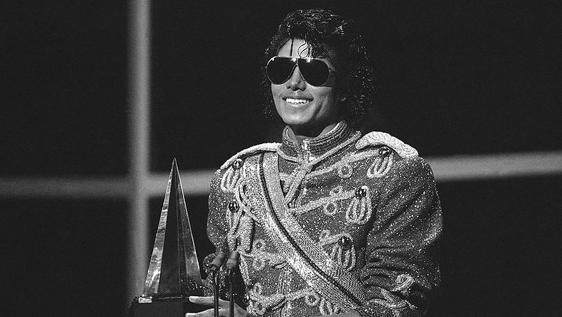 Майкл Джексон во время церемонии American Music Awards, 1984 г.