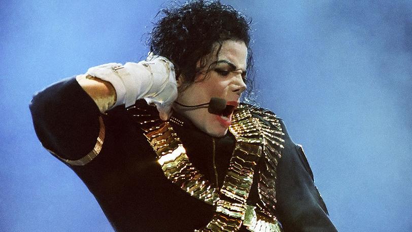 Майкл Джексон во время концерта в Лужниках, 1993 г. Фото ИТАР-ТАСС/ Сергей Мамонтов