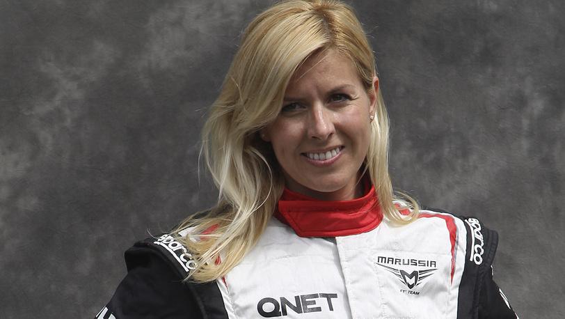 Мария де Вильота во Гран-При Австралии в Мельбурне, март 2012. AP/ Rob Griffith
