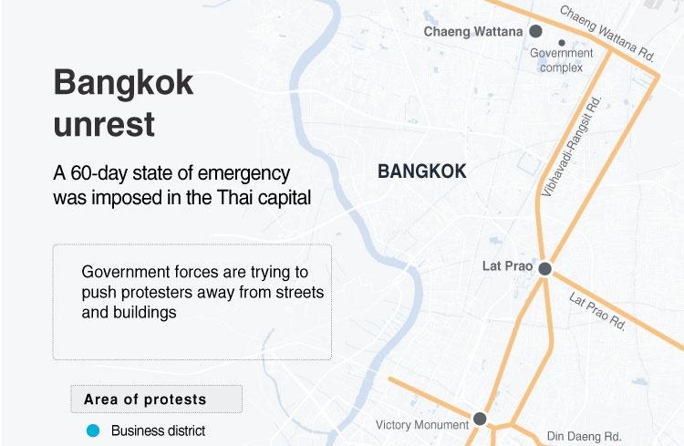 Bangkok unrest