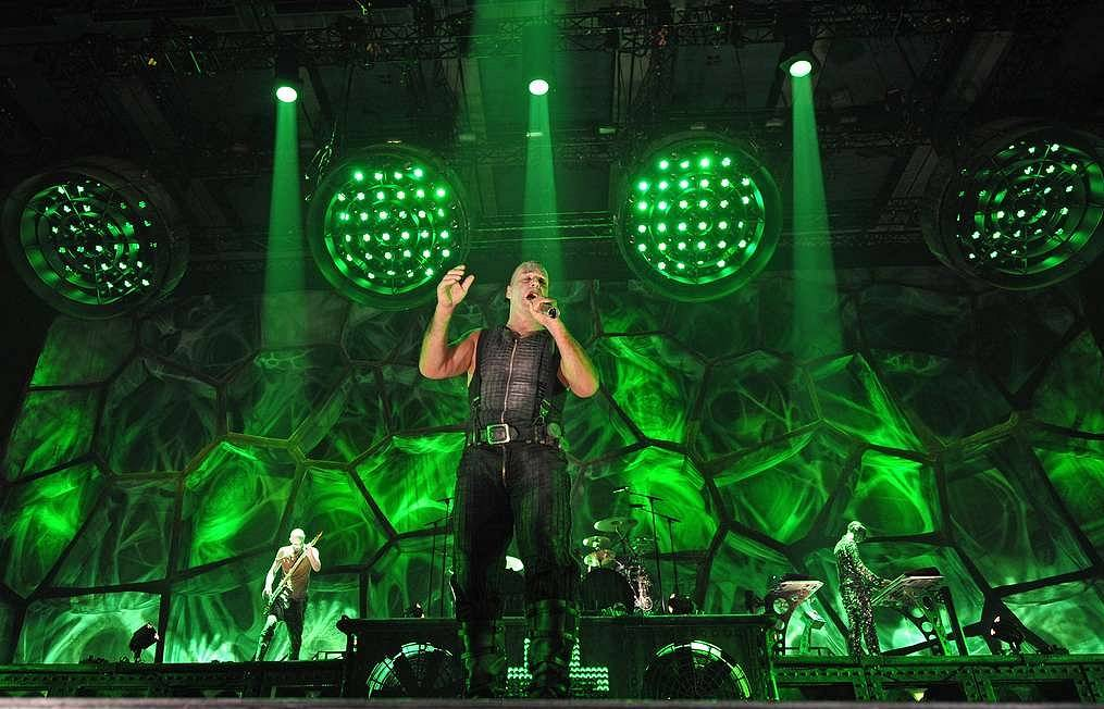 Rammstein changes venue for July performance in Moscow