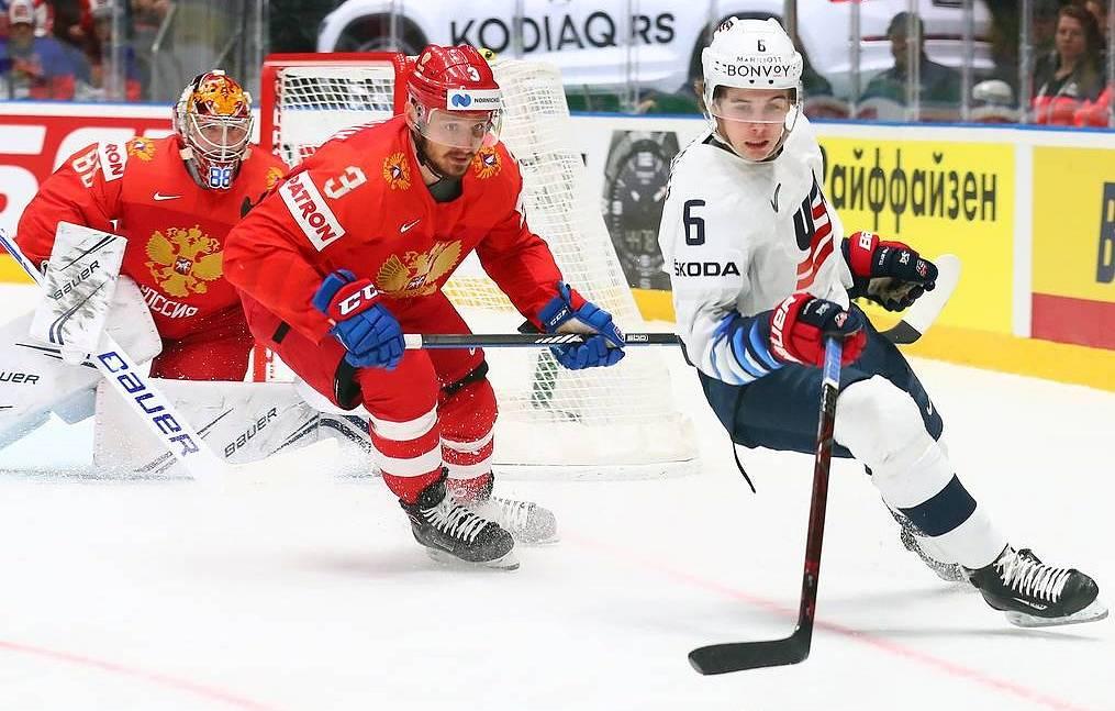 Russian hockey squad edges US 4-3 in quarterfinals of 2019 IIHF World Championship