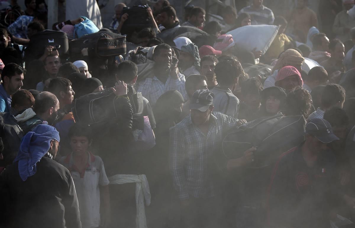 Более ста беженцев из Сирии каждый месяц проникают в Норвегию через Мурманскую область