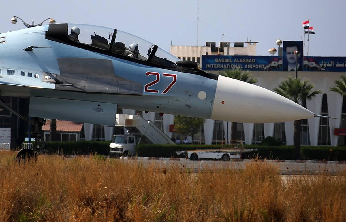 Российская авиация в Сирии: точные удары по цели