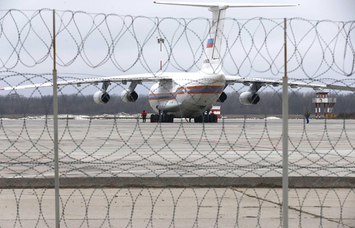 Болгария отказала РФ в воздушном коридоре для самолета МЧС с помощью для Сирии