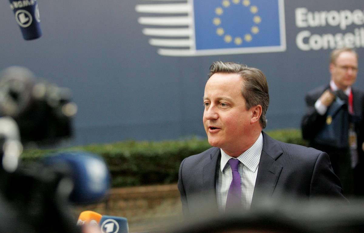 Кэмерон представил четыре требования Лондона на переговорах с Брюсселем