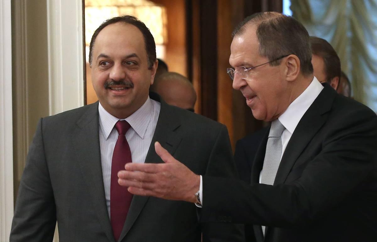 Лавров: позиции РФ и Катара близки по концепции безопасности в зоне Персидского залива