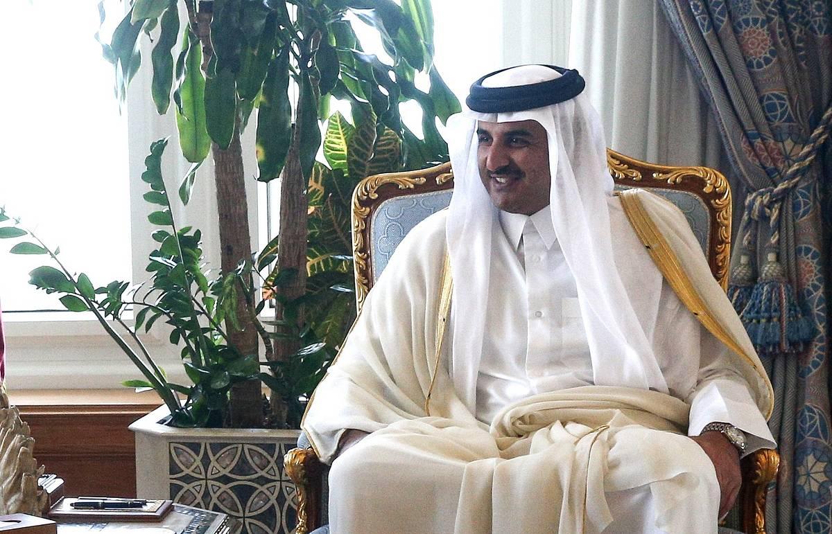 Путин 18 января встретится с эмиром Катара