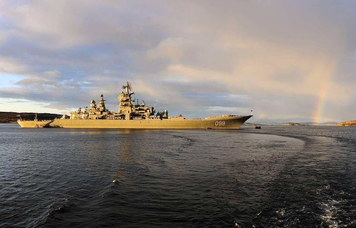 """Источник: крейсер """"Петр Великий"""" в ходе модернизации получит гиперзвуковые ракеты"""