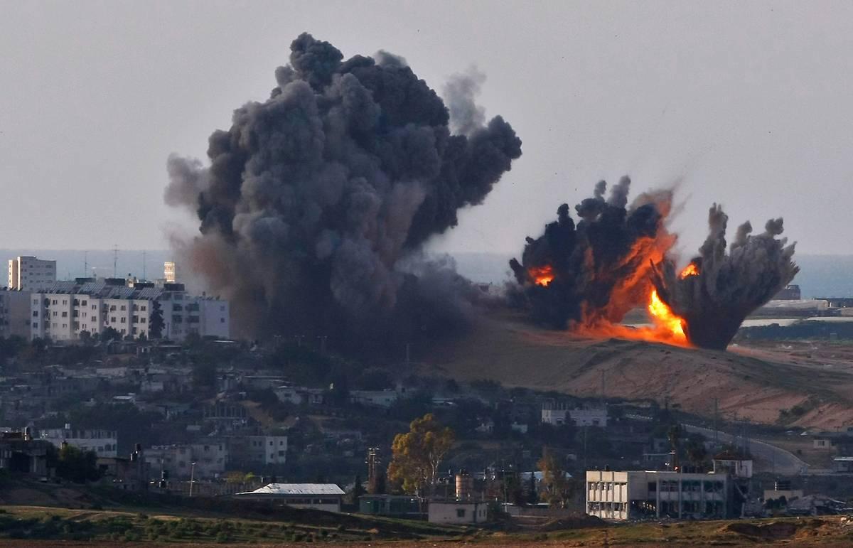 ВВС Израиля атаковали позиции ХАМАС в секторе Газа