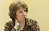 EU High Representative for Foreign Affairs and Security Policy Catherine Ashton