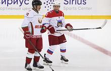 President of Belarus Alexander Lukashenko and Russian President Vladimir Putin