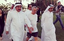 Али ан-Нуайми на прогулке