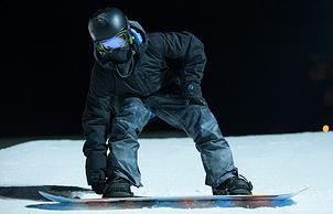 Сноубордист Сергей Тарасов. Фото  из личного архива Сергея  Тарасова.