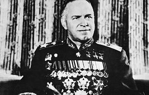 Маршал Советского Союза Георгий Константинович Жуков, 1945 год