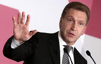 Russia's First Vice-Premier Igor Shuvalov
