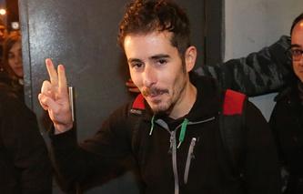 Greenpeace activist Christian D'Alessandro
