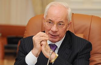 Ukrainian Prime Minister Nikolai Azarov