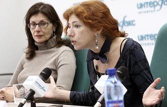 Human Rights Watch director for Russia Tatyana Lokshina