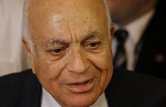Arab League secretary-general Nabil Al-Arabi