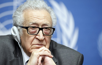 UN-Arab League Special envoy to Syria Lakhdar Brahimi