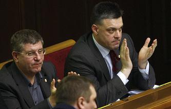 Svoboda (Freedom) Party leader Oleg Tyagnibok