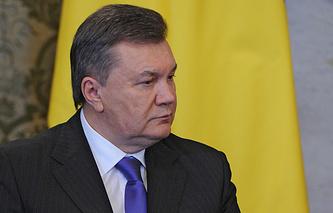 Ukraine's President Viktor Yanukovich