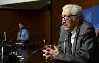 UN-Arab League Special Envoy for Syria Lakhdar Brahimi