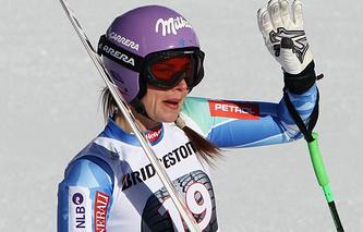 Slovenia's skier Tina Maze