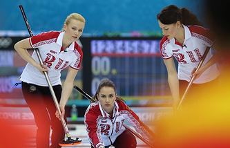 Russian women's curling team