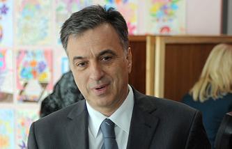Montenegrin President Filip Vujanovic