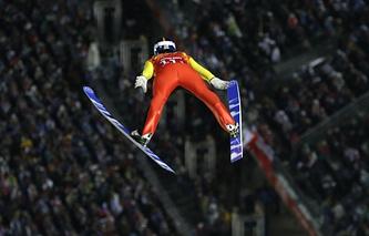Germany's skier Andreas Wank