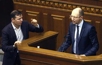 Arseny Yatsenyuk (R)