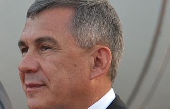 Tatarstan's President Rustam Minnikhanov