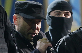 Leader of the Right Sector movement Dmytro Yarosh