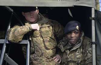 British Army personnel (archive)