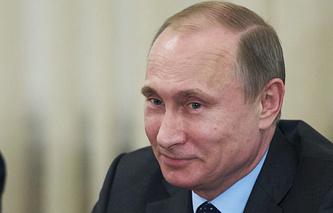 ITAR-TASS/Vladimir Putin