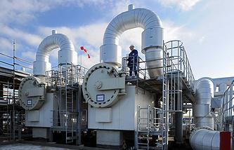 Gas storage in Germany