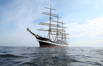 Russian sail ship Krusenstern